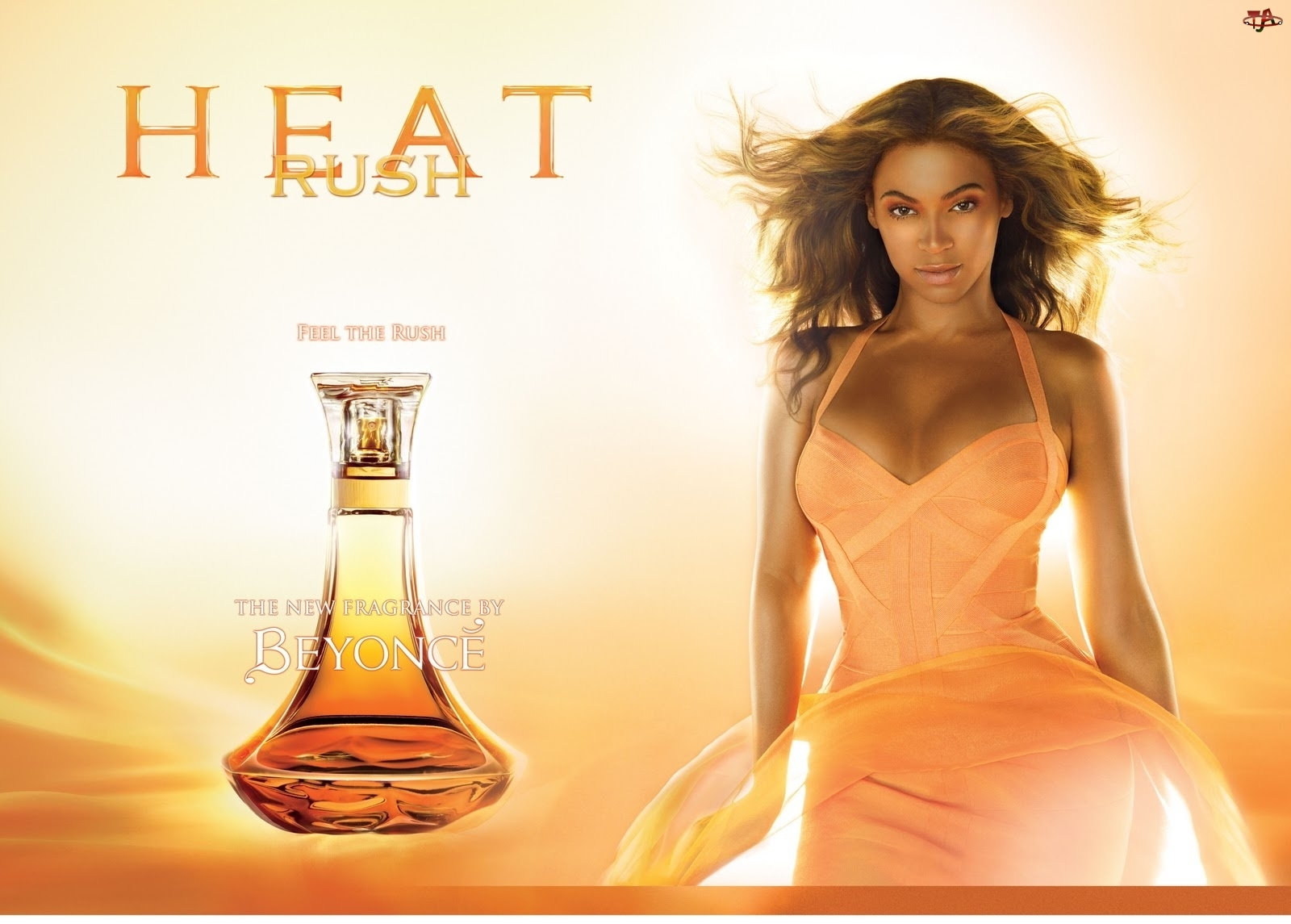 Heat, Beyonce, Rush, Perfumy