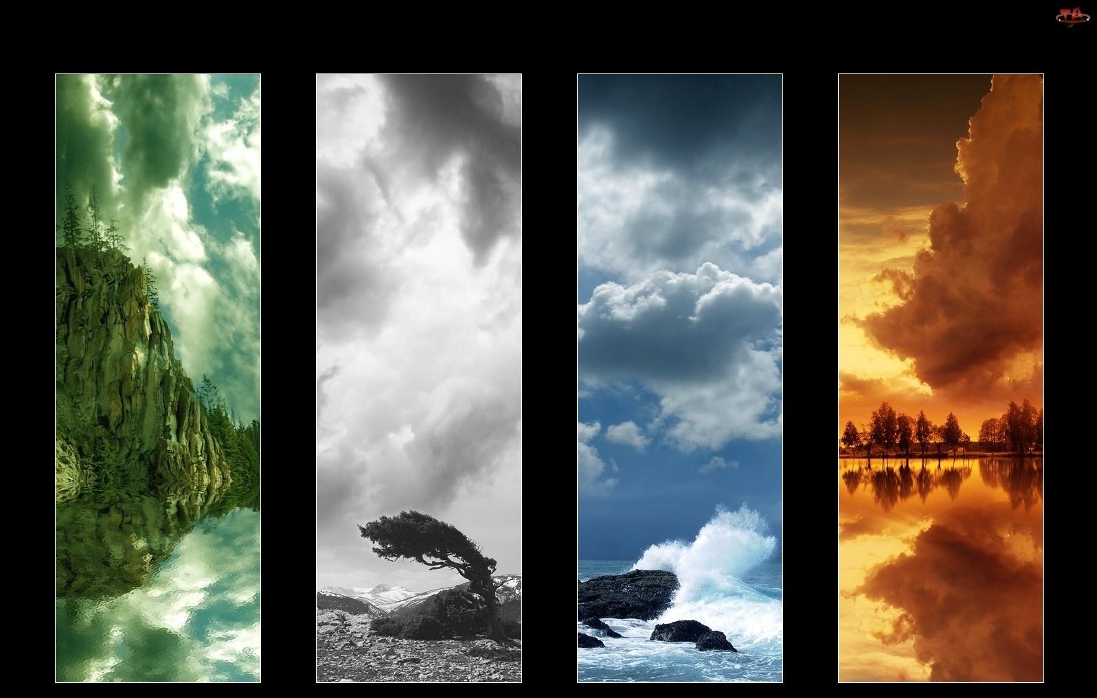 Natura, Cztery, Obrazki