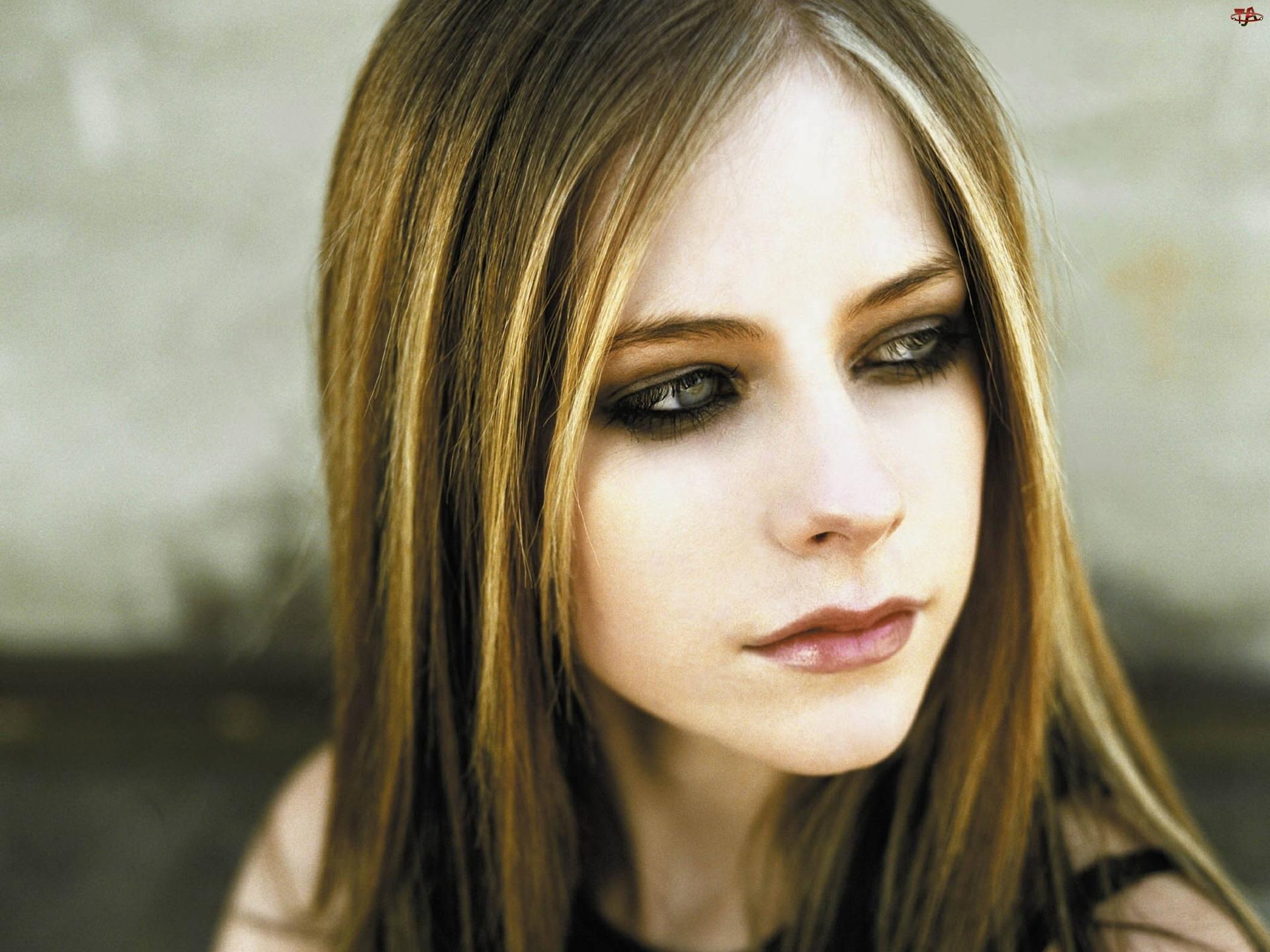 Avril Lavigne, Spojrzenie, Zielone, Oczy