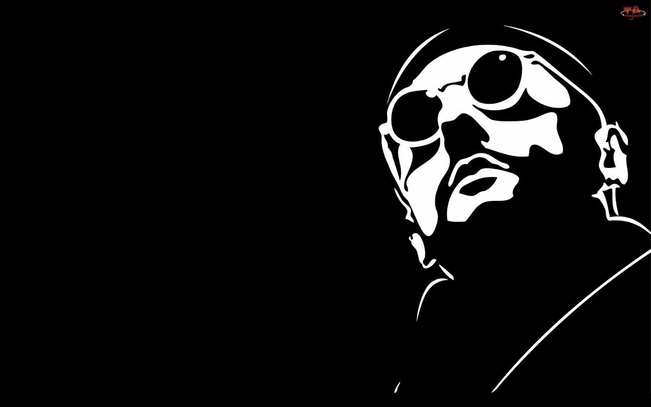 Okulary, Jean Reno, Twarz