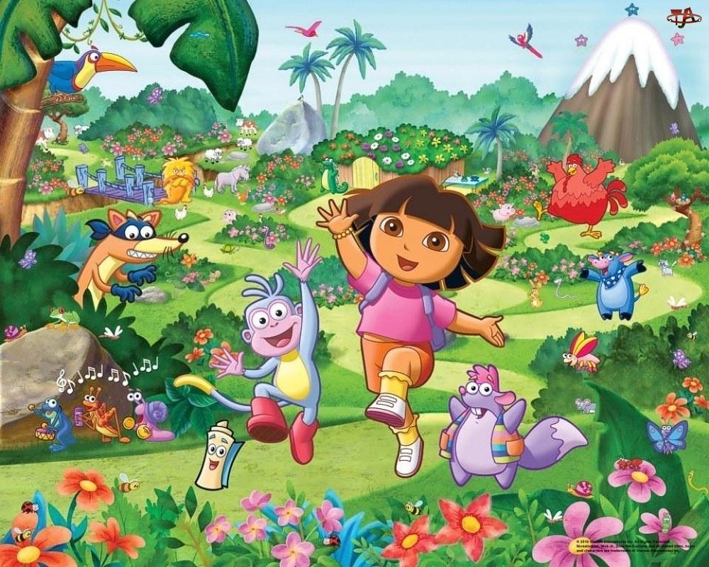 Bohaterowie, Dora, Przyjaciele