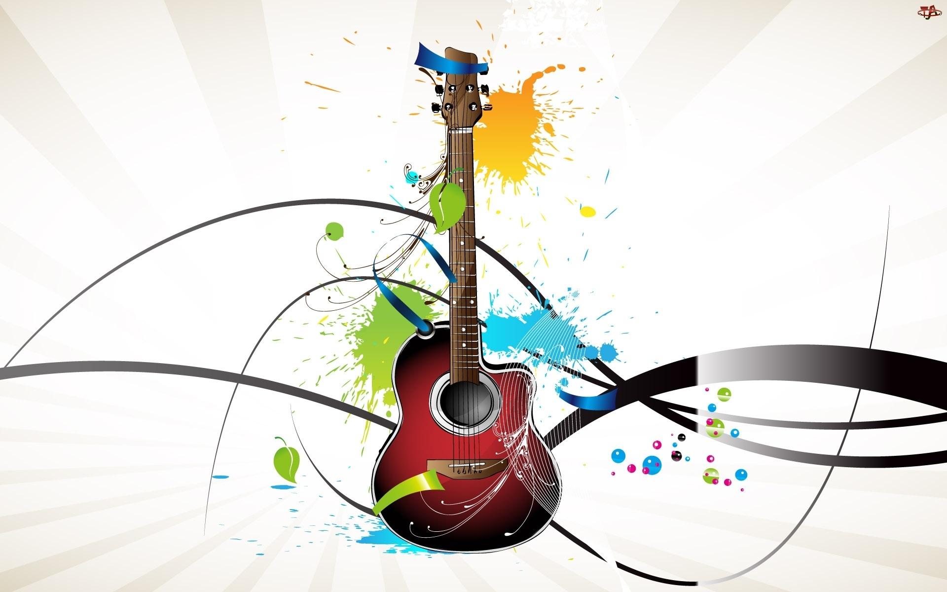 Plamy, Gitara, Kolorowe