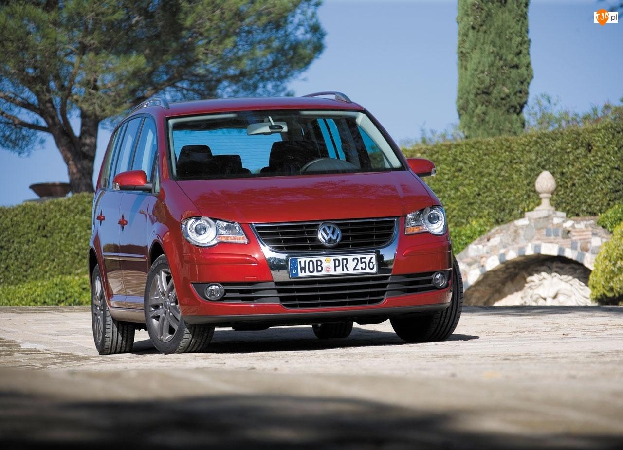Auto, Volkswagen Touran, Rodzinne