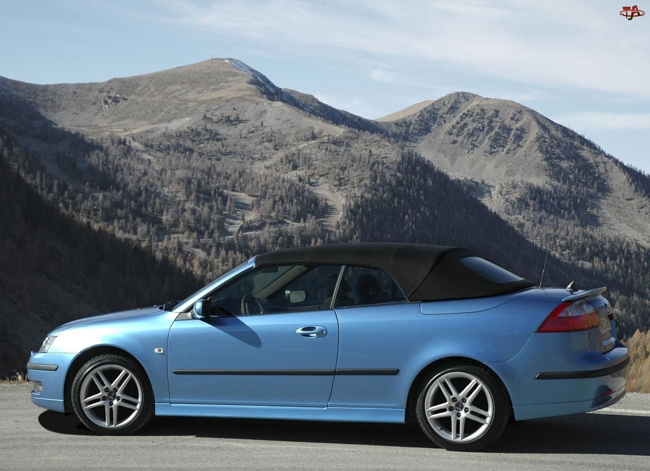 Niebieski, Saab 9-3 Cabrio