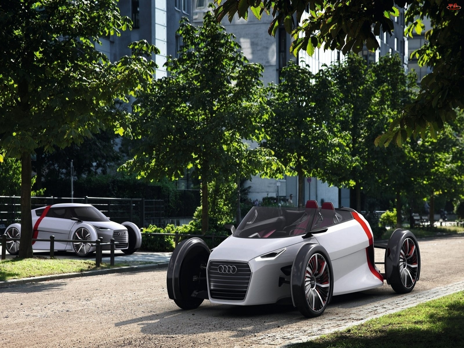 Audi Urban Spyder, Parking