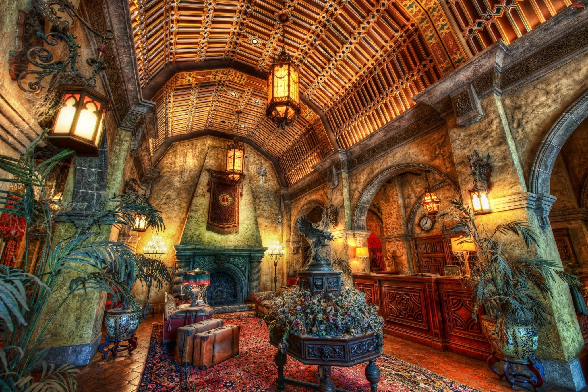 Floryda , Hotel, Tower of Horror, Disney World