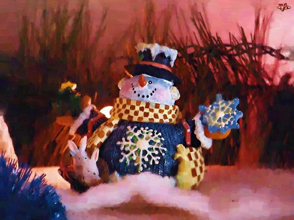 Boże Narodzenie, bałwanek