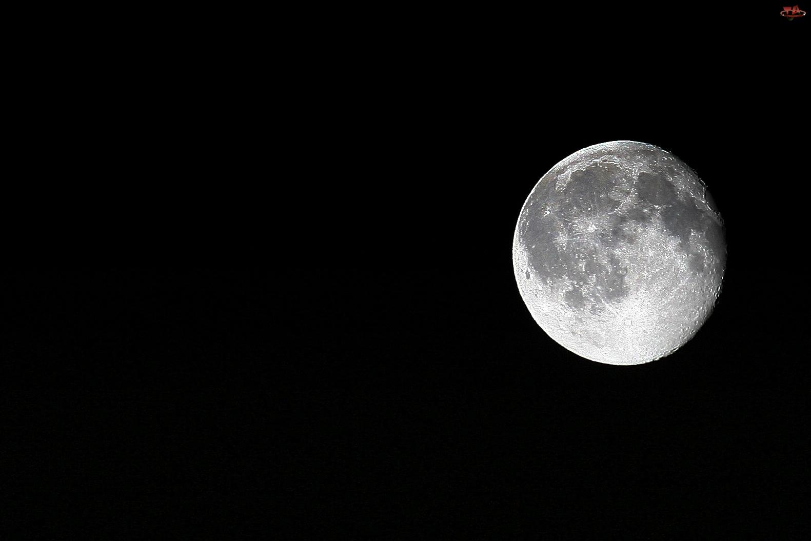 Księżyc, Noc