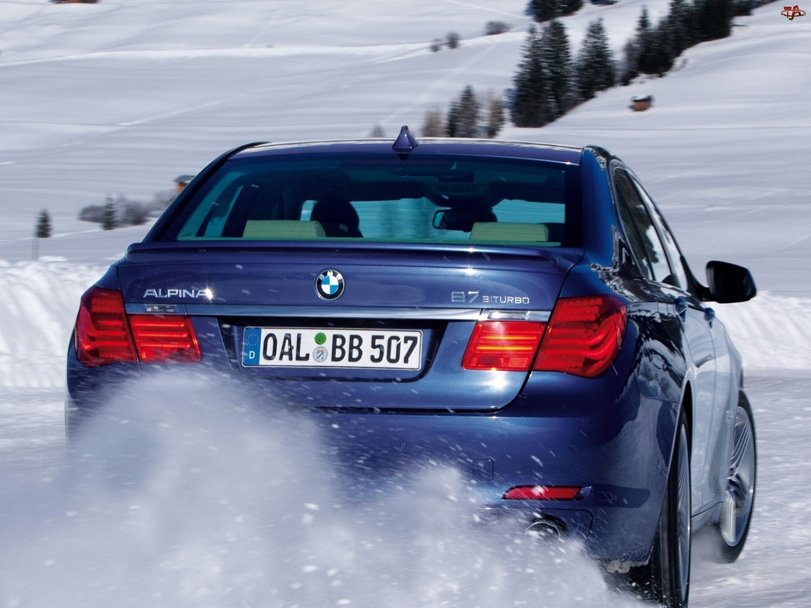 BMW, Tuning, B7, Alpina