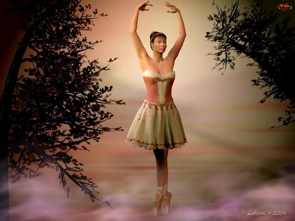 3D, Balerina, Taniec