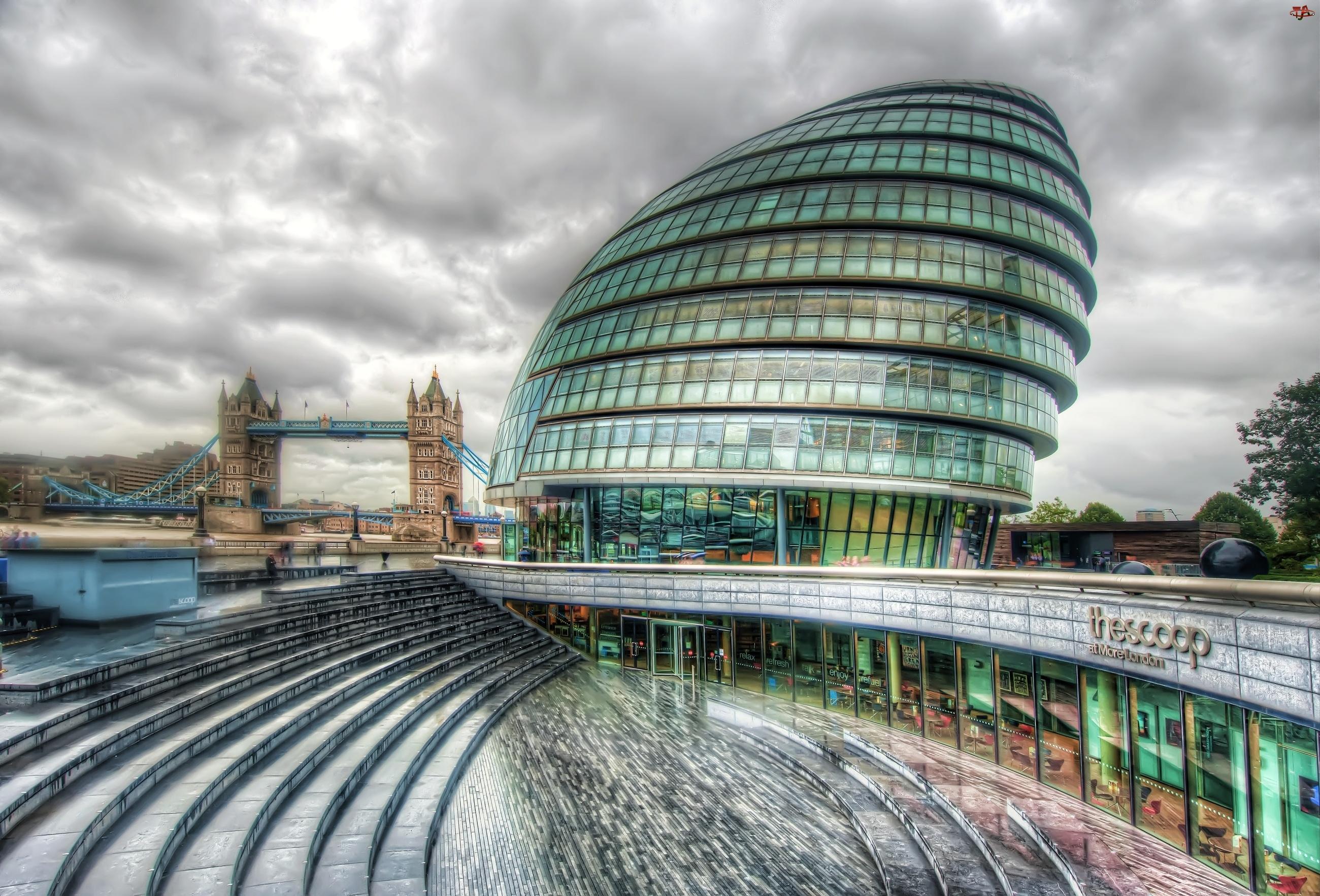 Trey Ratcliff, Nowoczesna, Londyn, Budowla, Anglia