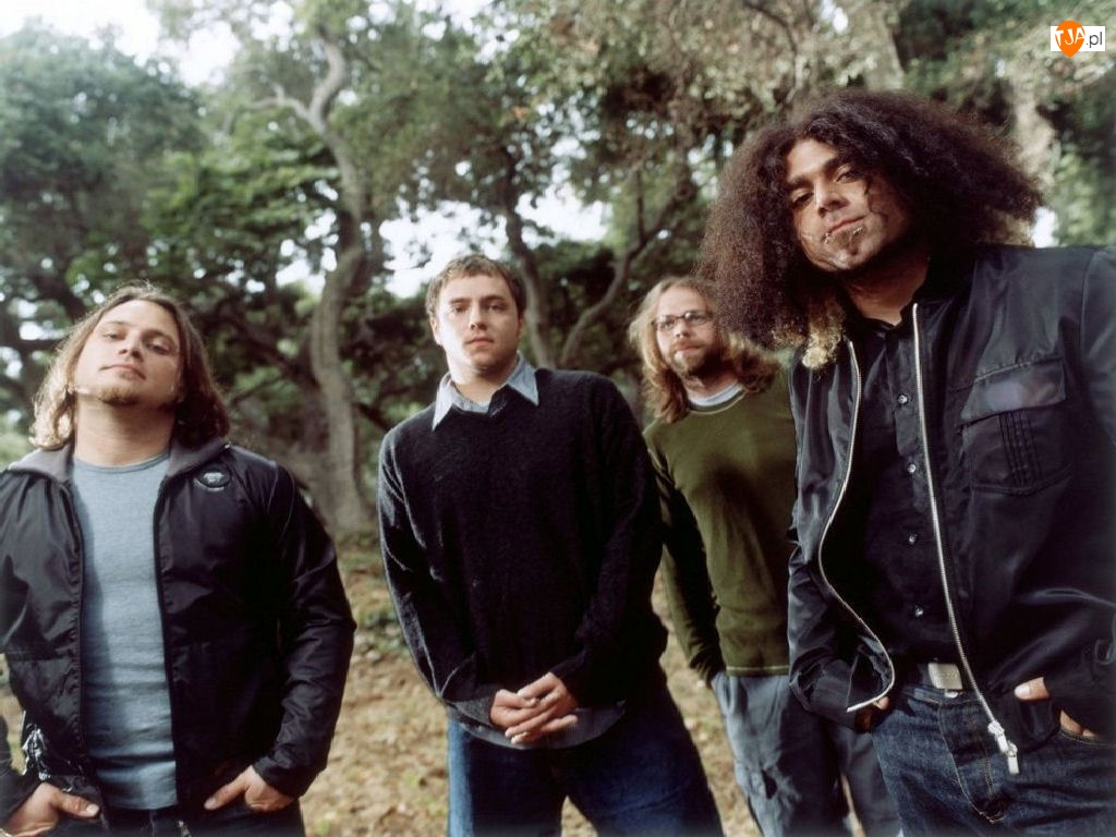 włosy, Coheed And Cambria, zespół