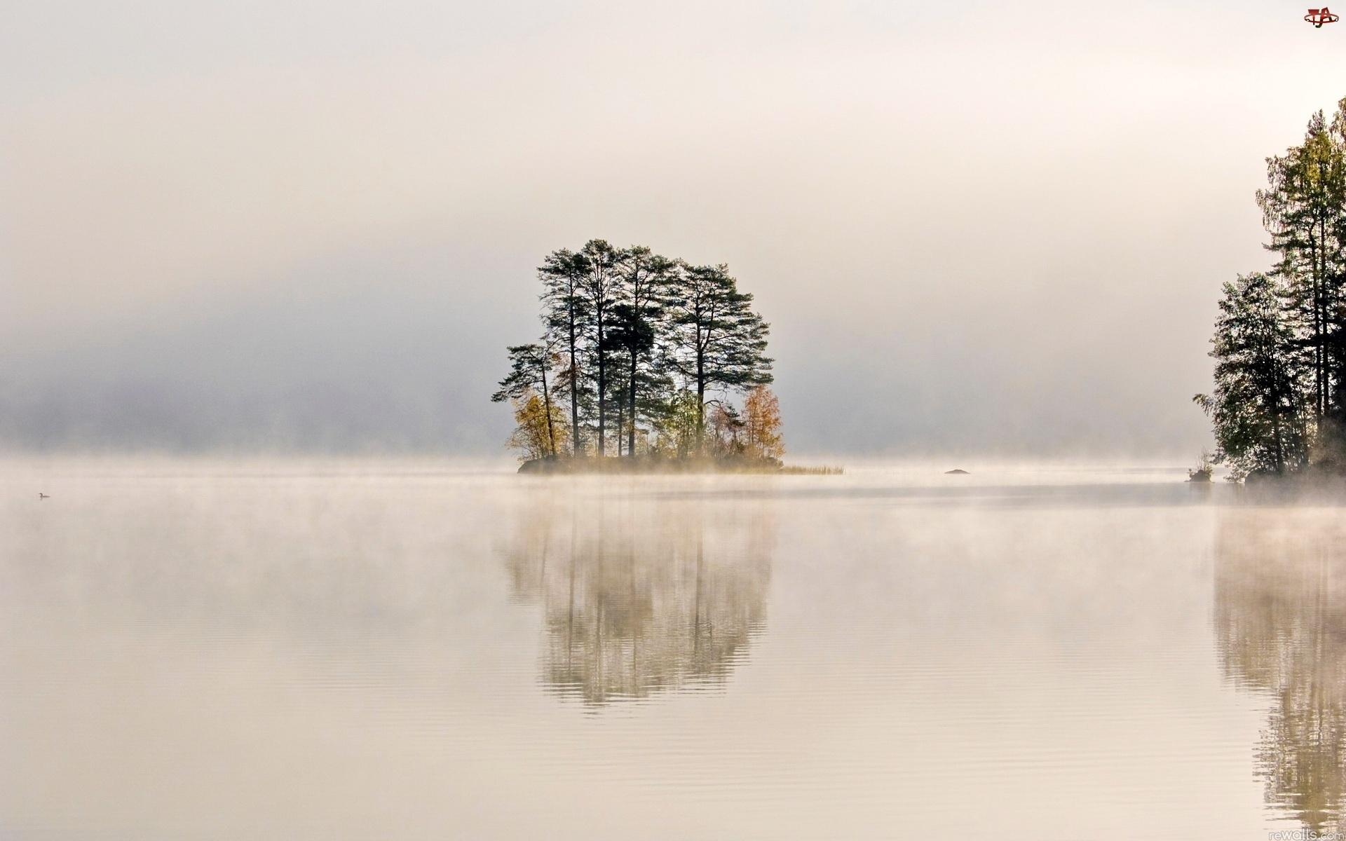 Jezioro, Mgła