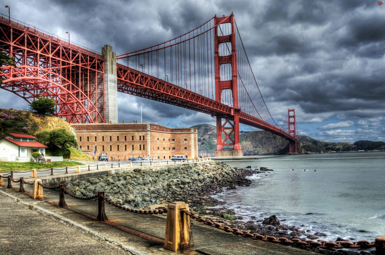 Francisco, Most, Gate, Golden, San