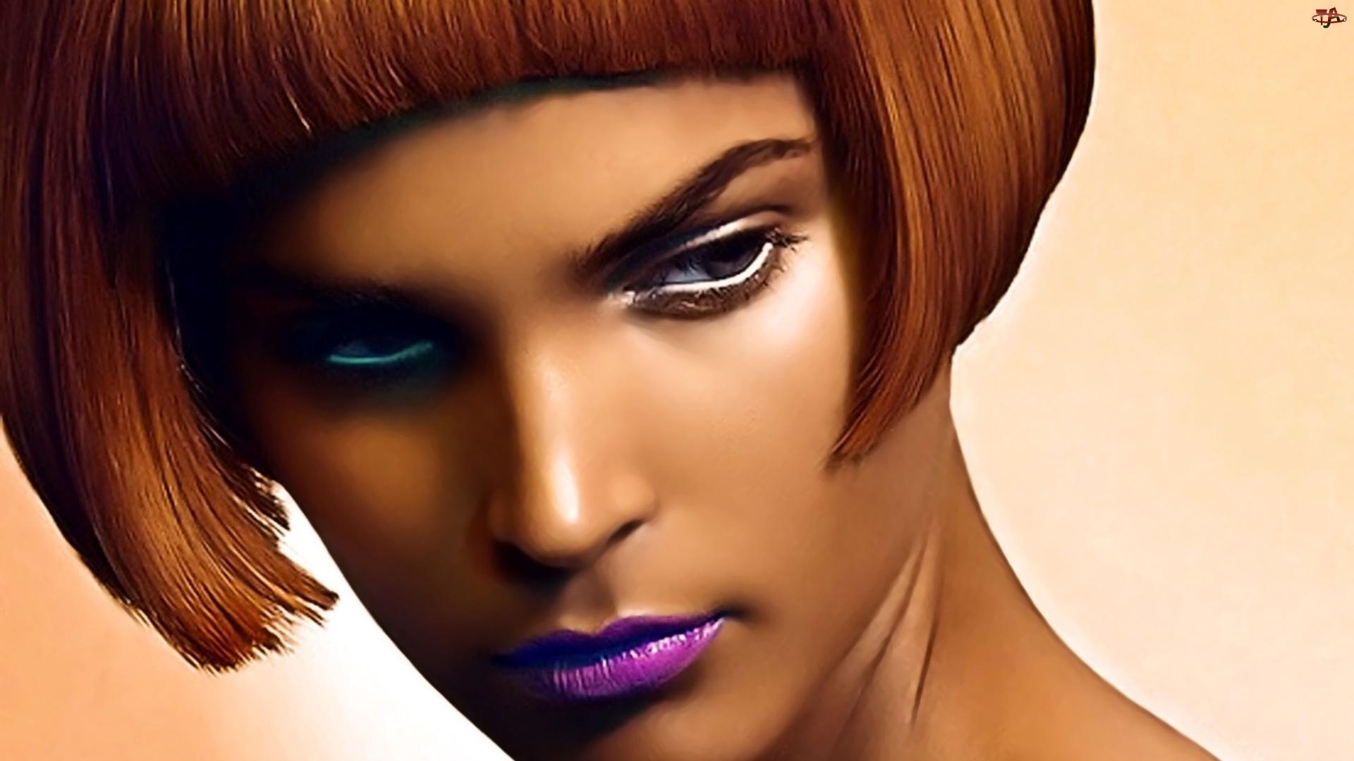 Oczy, Kobieta, Kolorowe