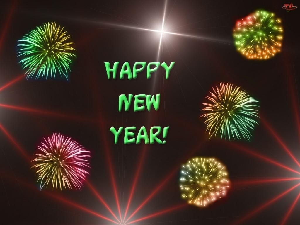 Happy New Year, fajerwerki