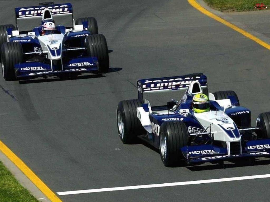 bolidy, Formuła 1, BMW Sauber