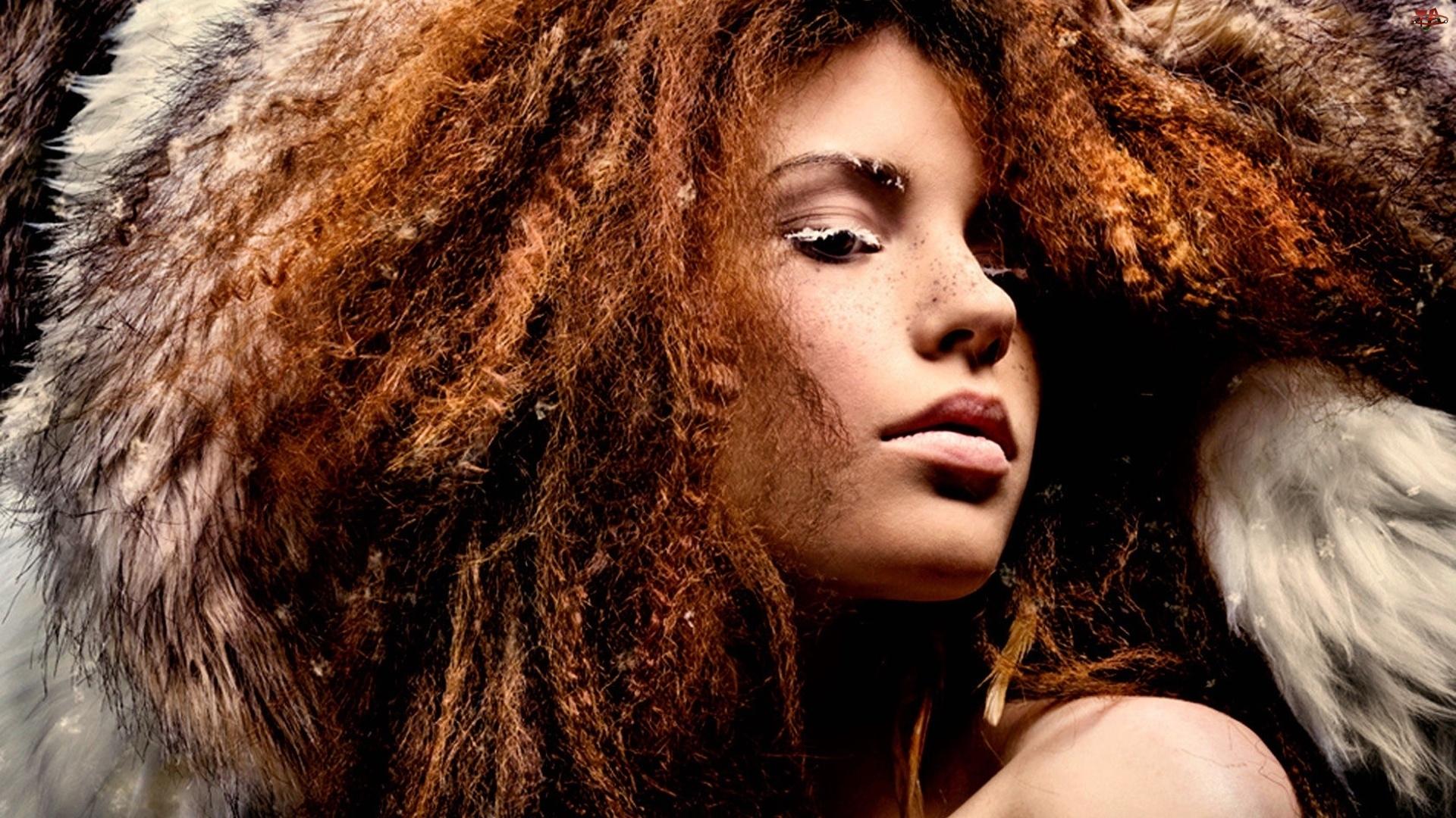 Włosy, Kobieta, Gęste