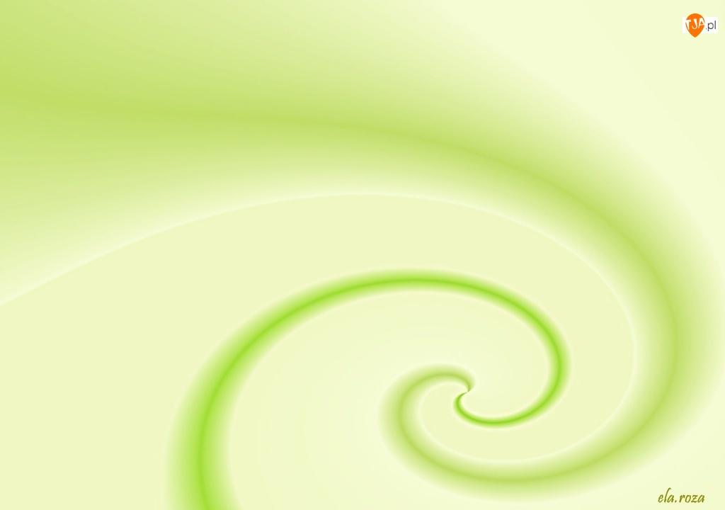 Tekstura, Zielona, Spirala