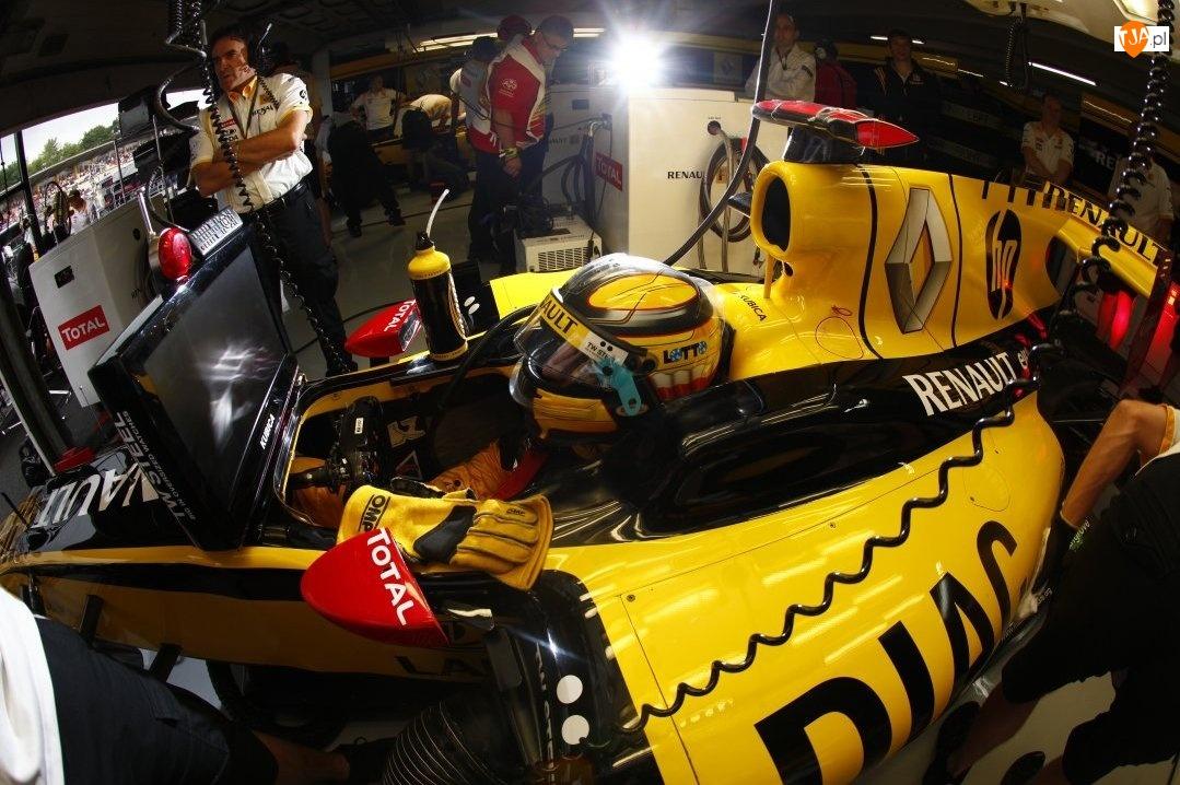 Boks, Renault F1 Team