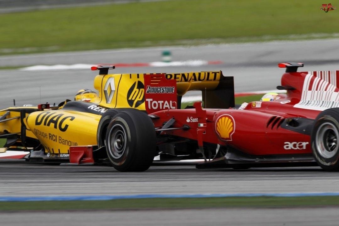 Marlboro Scuderia Ferrari, Renault F1 Team