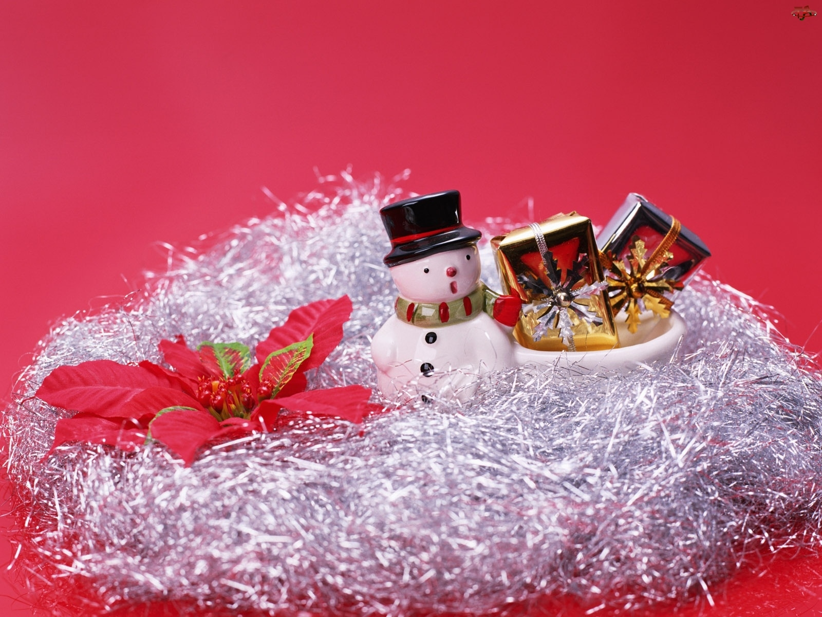 Bałwanek, Świąteczny, Stroik