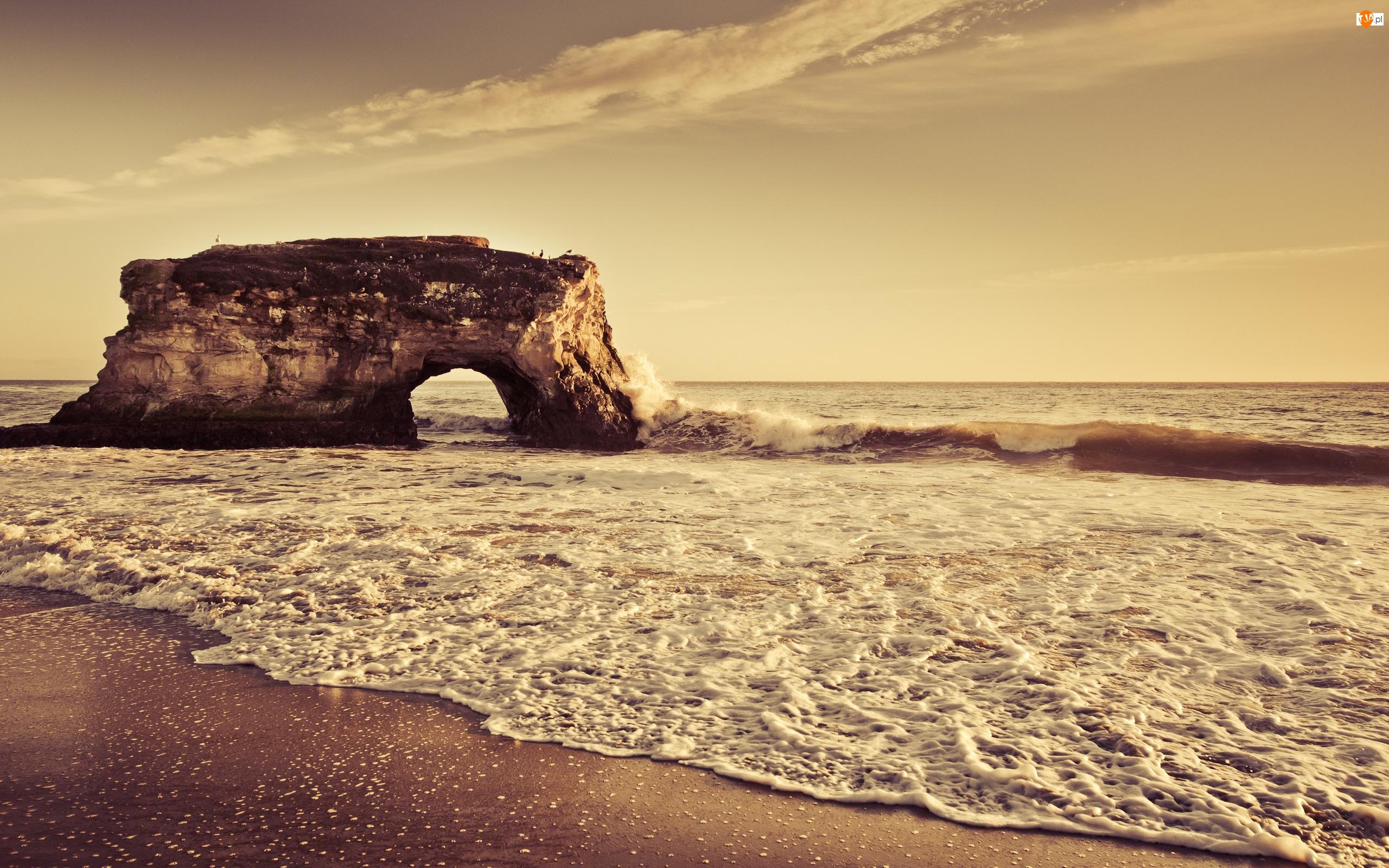 Skała, Morze