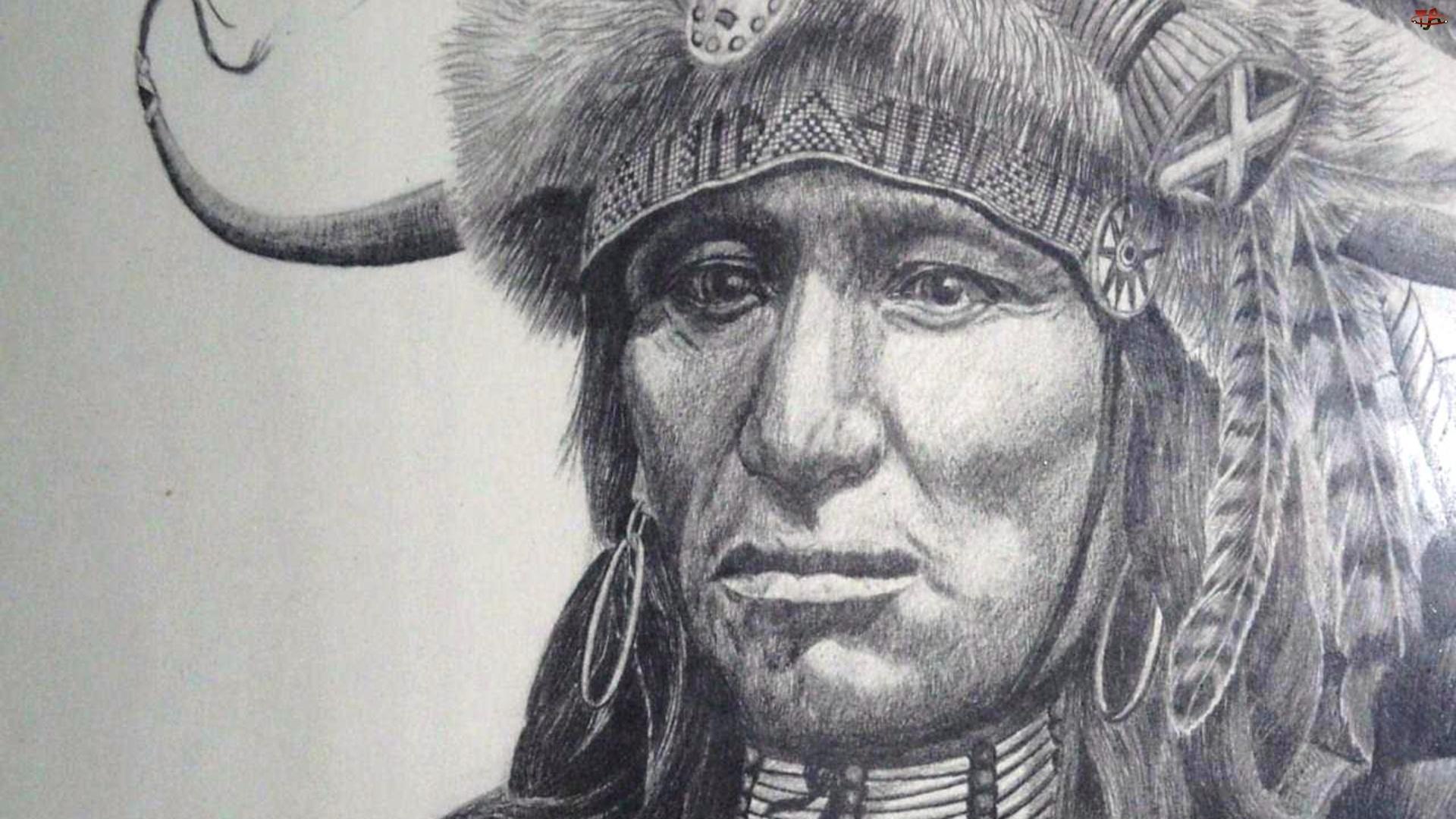 Indianin, Pióropusz