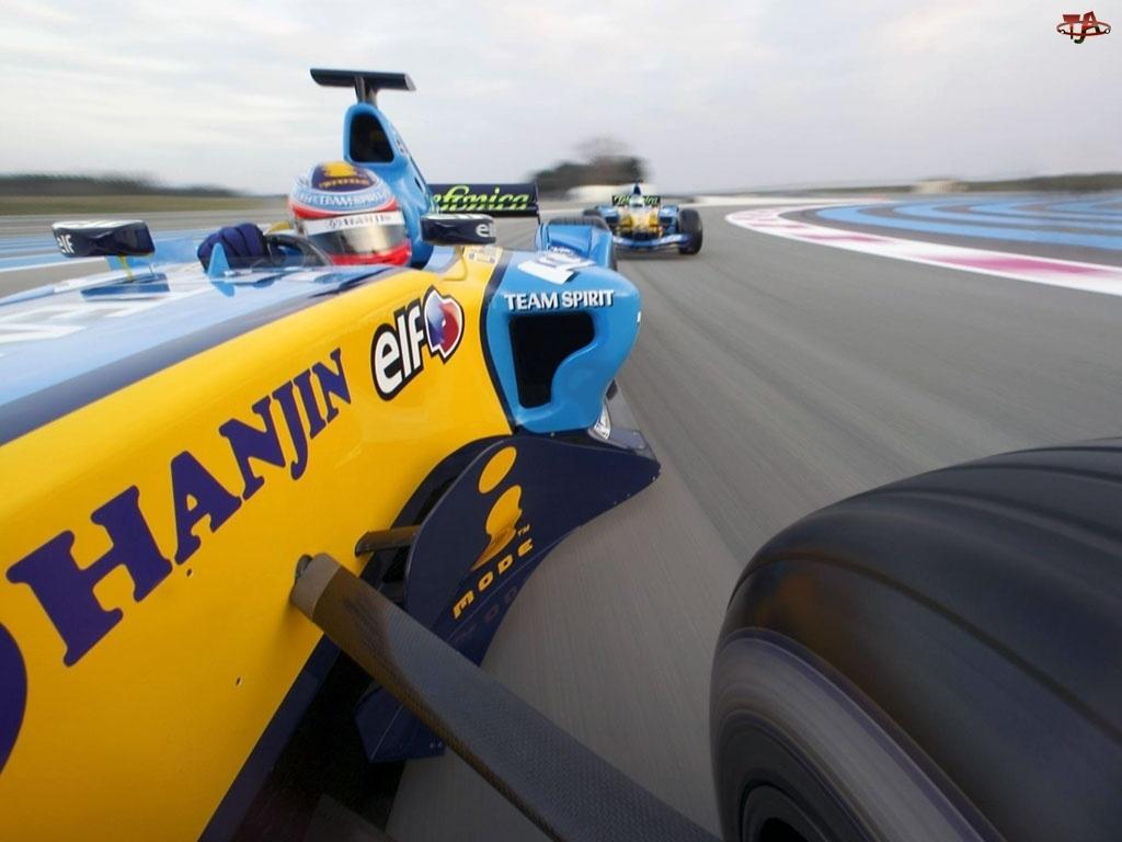 Wyścigowy, Renault F1 R26, Tor