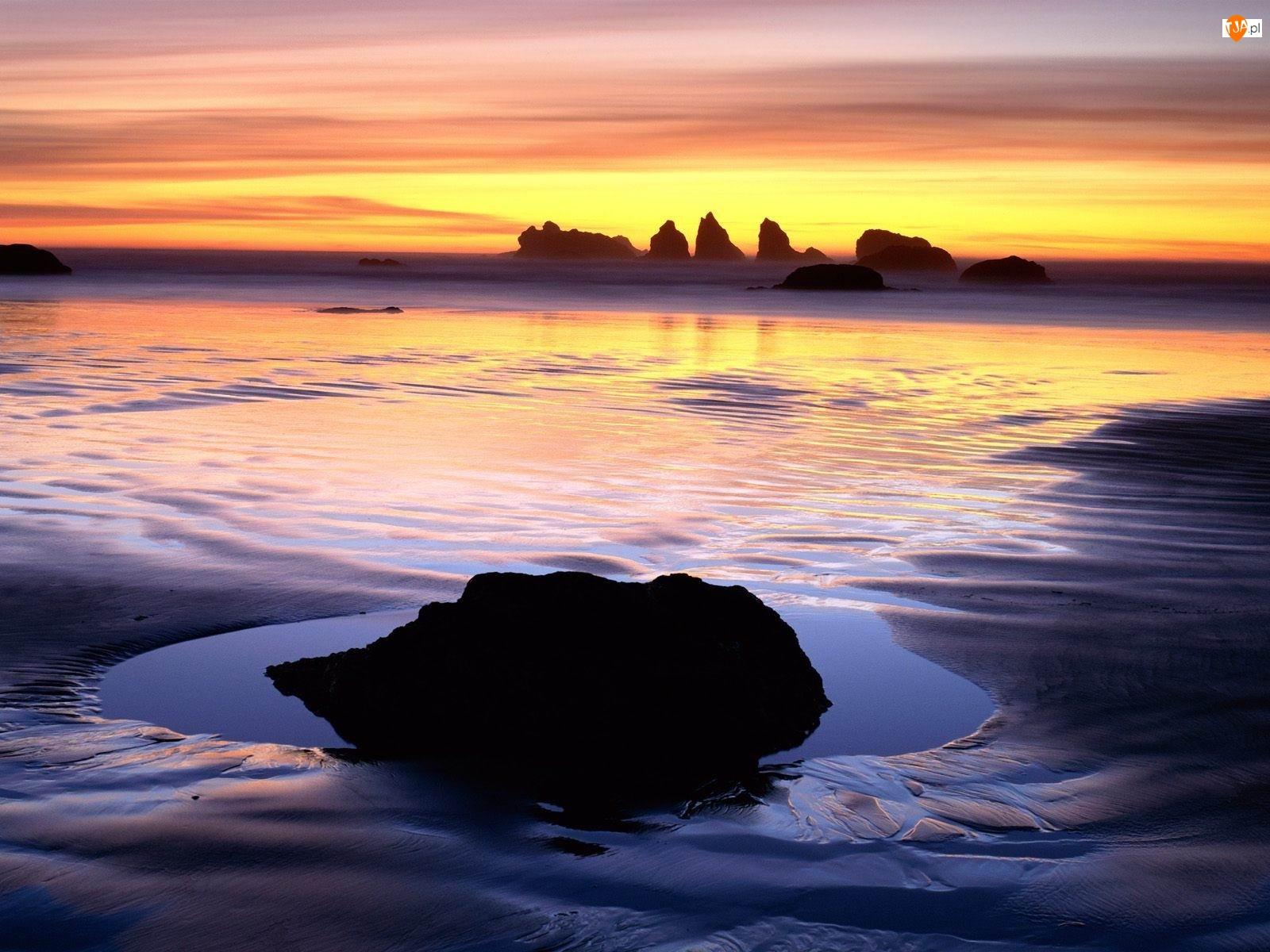 Zachód Słońca, Plaża