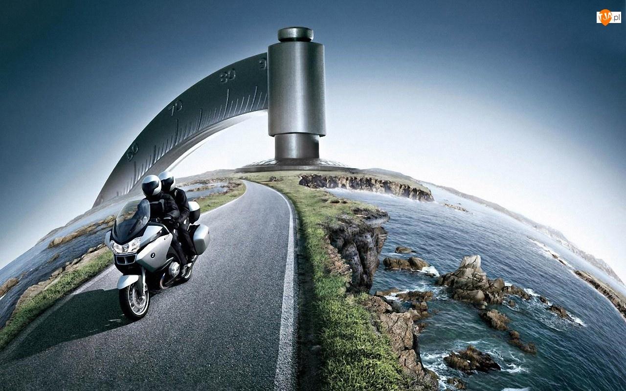 BMW, Globus, Motocykl