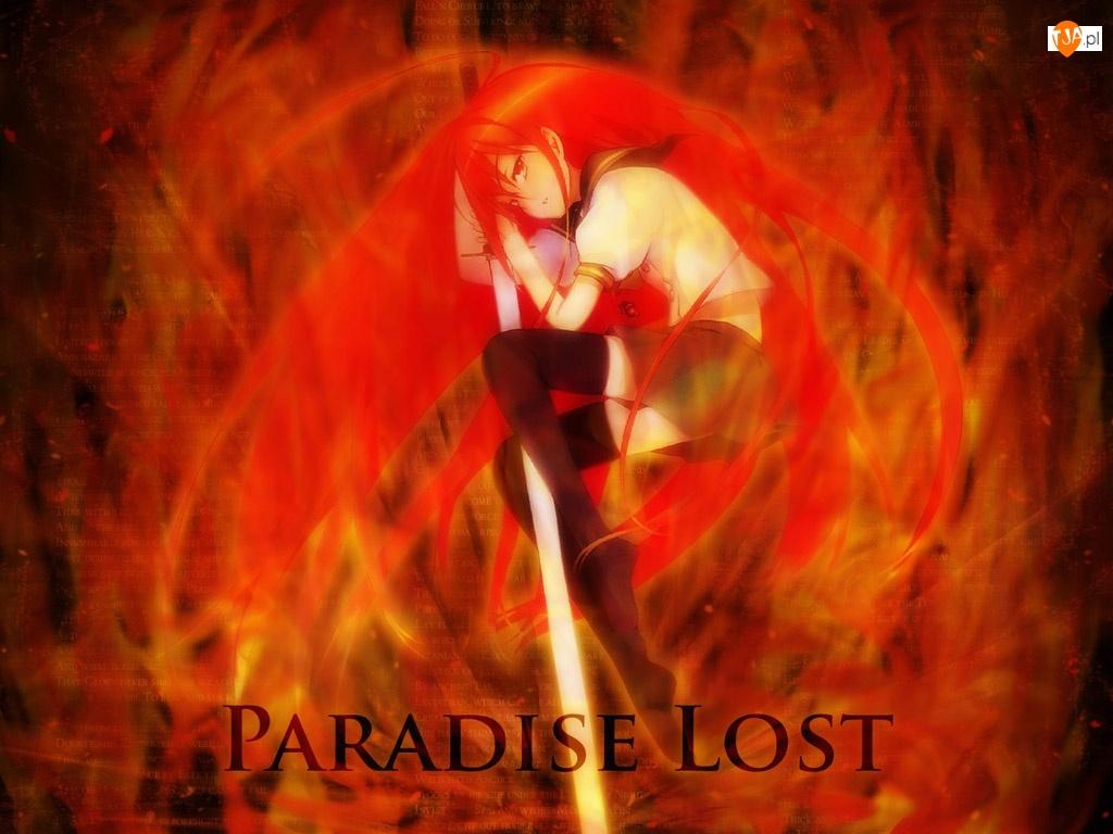 miecz, Shakugan No Shana, Paradise Lost