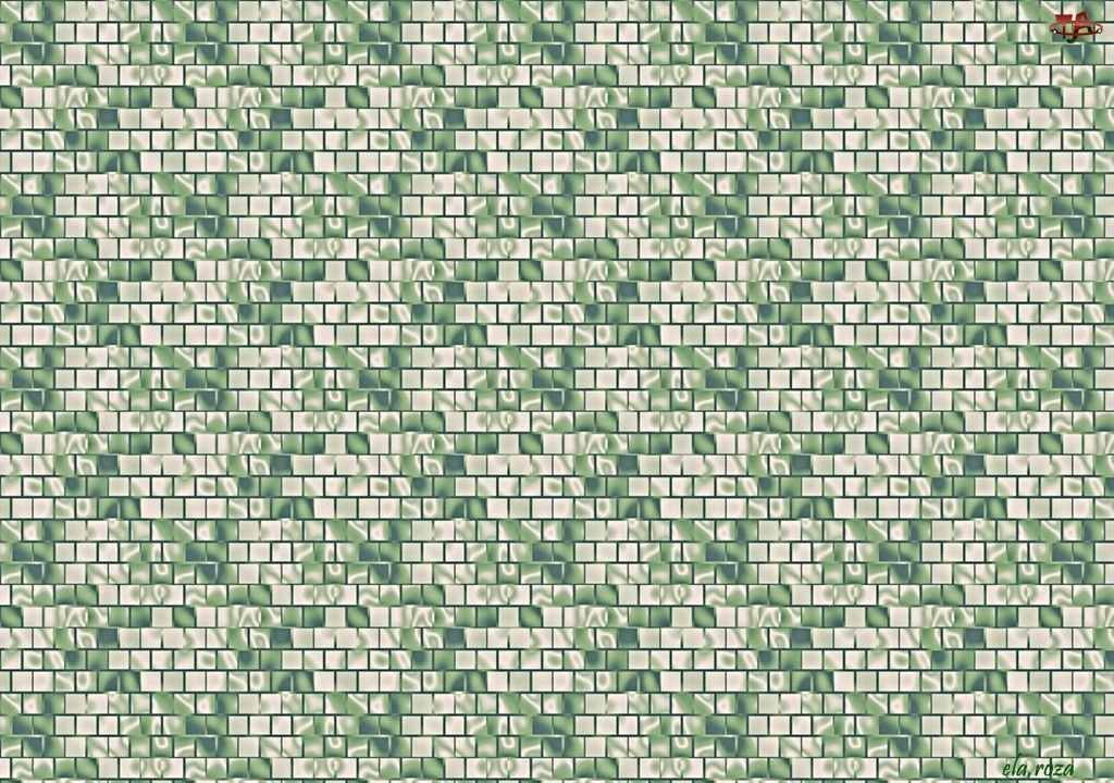 Mozaika, Tekstura