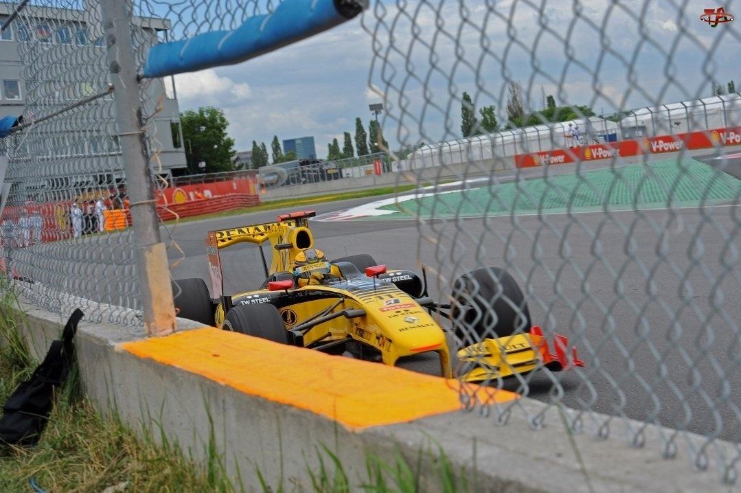 Renault F1, Płot