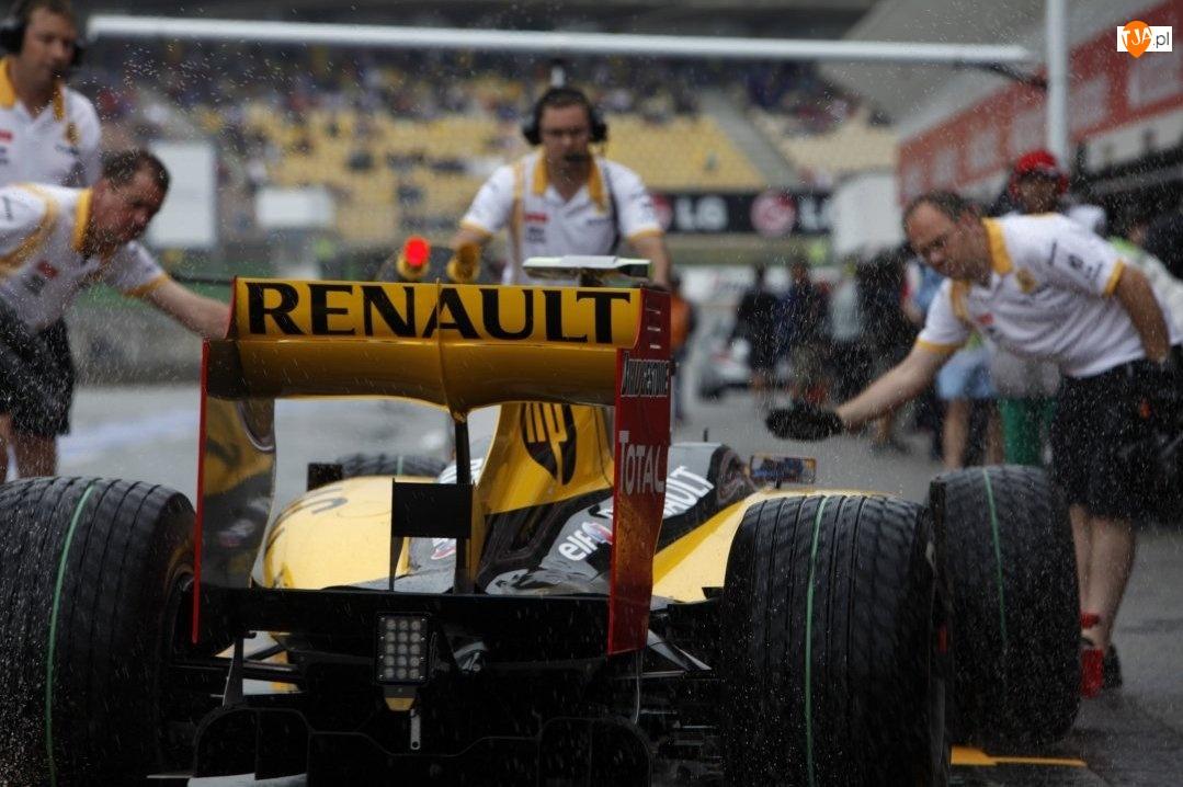 Pit Stop, Renault F1