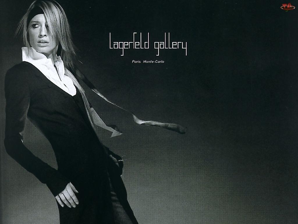 Lagerfeld, opaska, kobieta, koszula