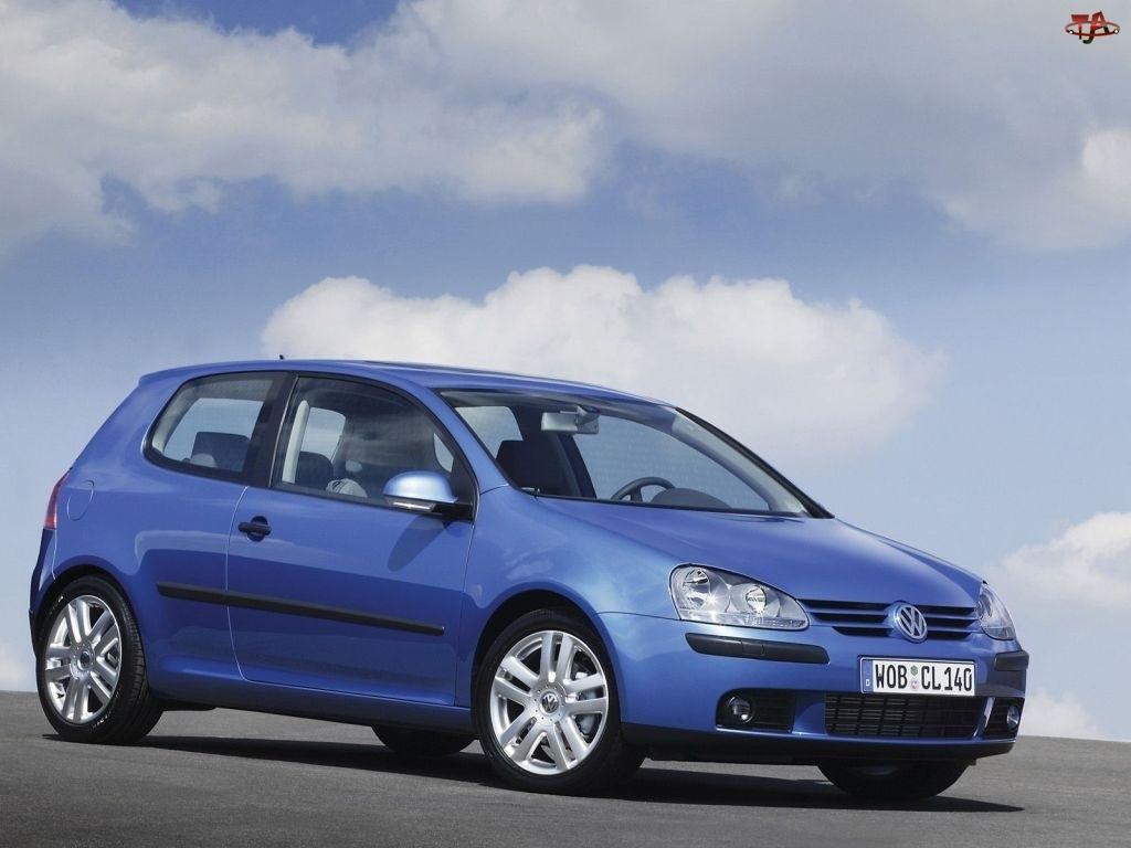 Volkswagen Golf 5, Niebieski