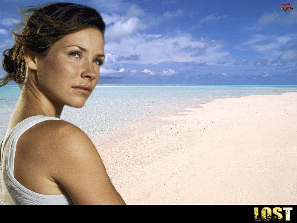 plaża, Filmy Lost, Evangeline Lilly, ocean