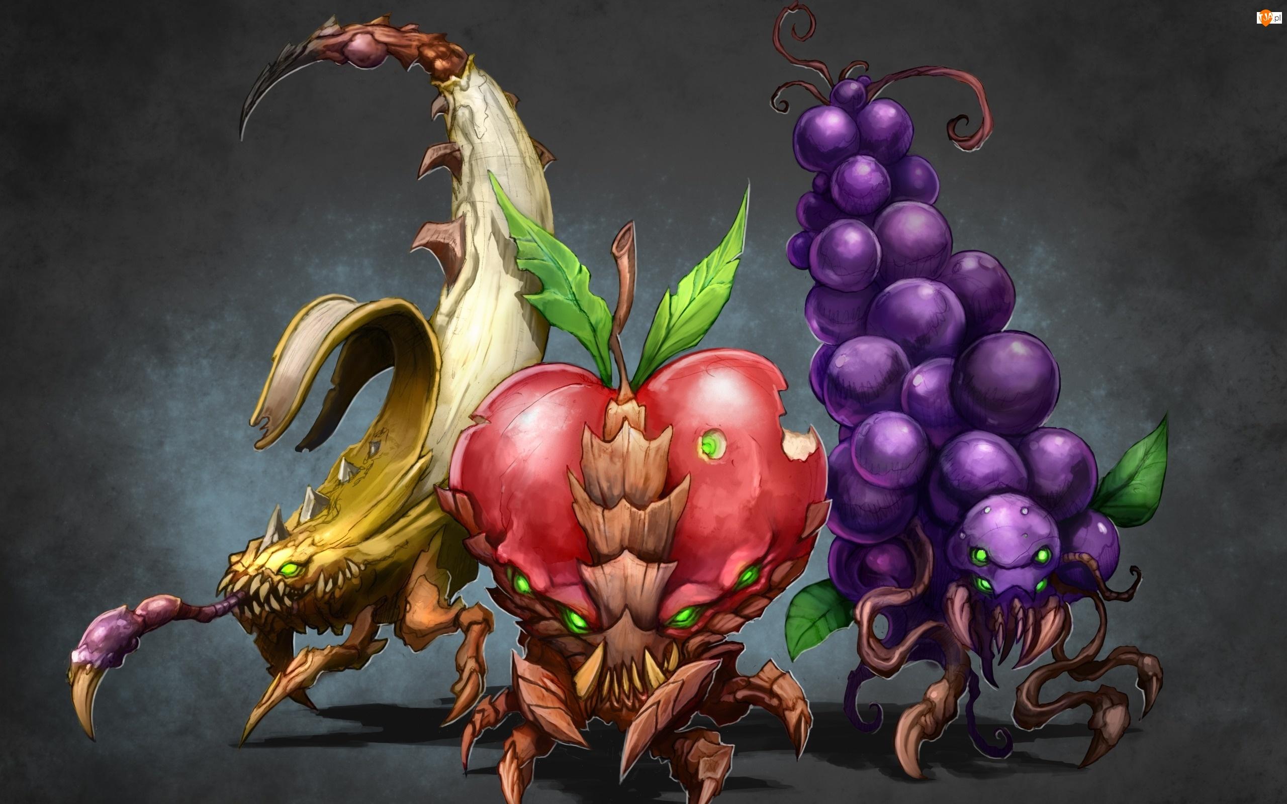 Straszne, Owoce