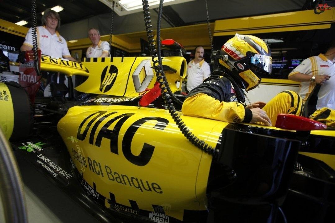 Boks, Robert Kubica, F1