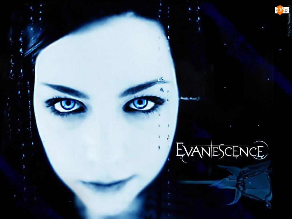 Oczy, Amy Lee, Wokalistka, Evanescence, Twarz