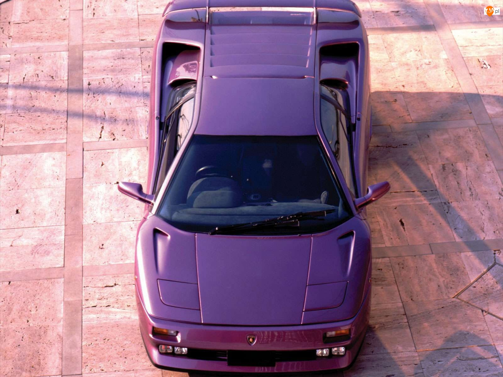 Lampy, Lamborghini Diablo, Podnoszone