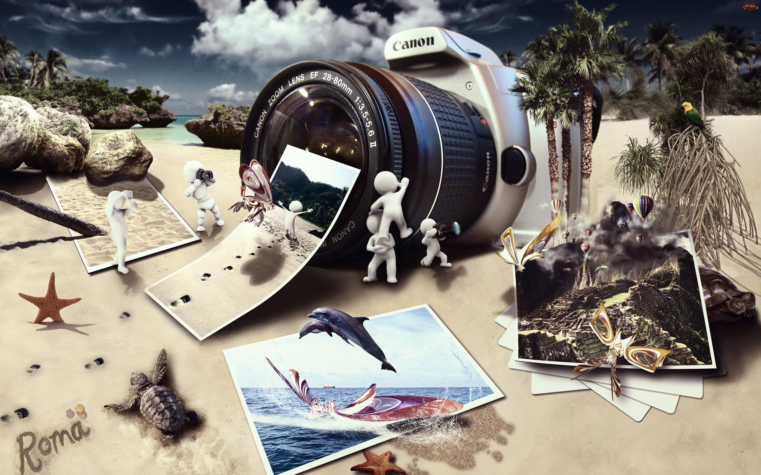 Reklama, Aparat Canon, Zdjęcia