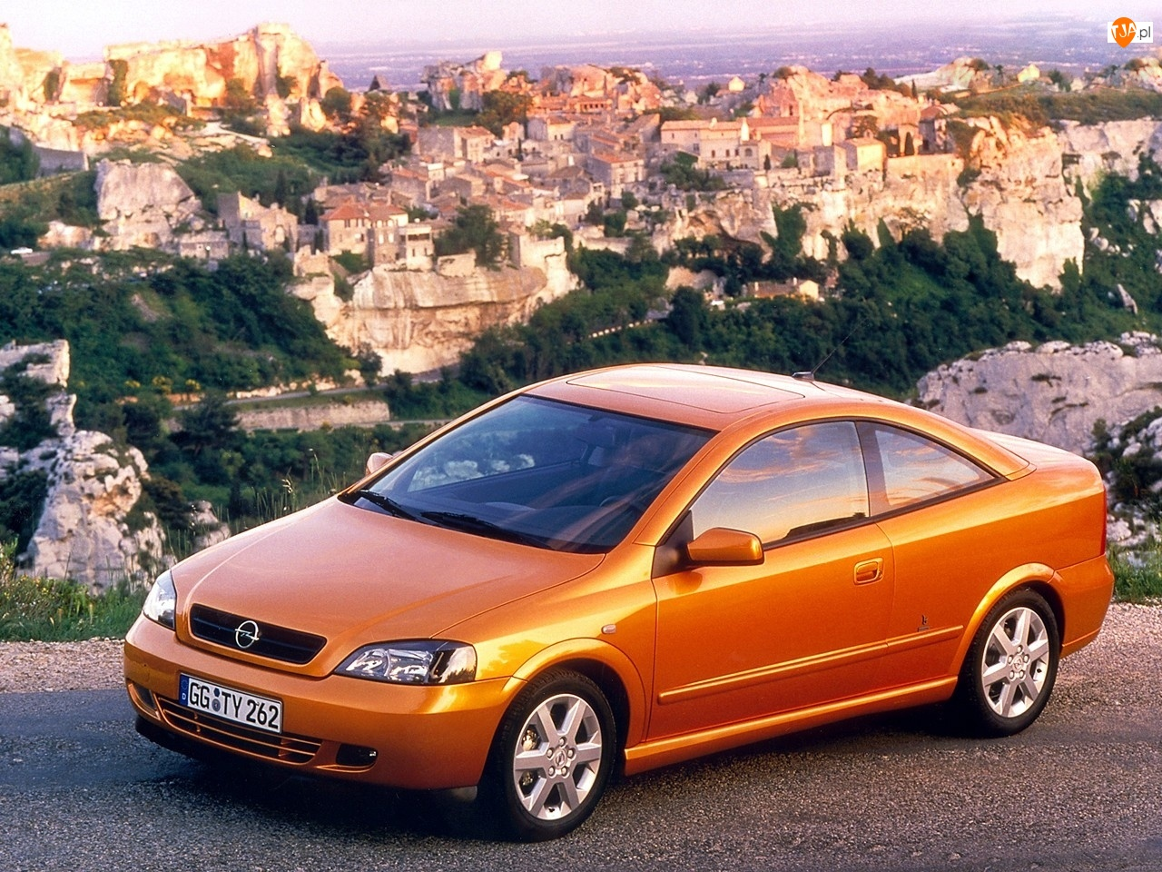 Skały, Opel, Coupe, Astra, Bertone