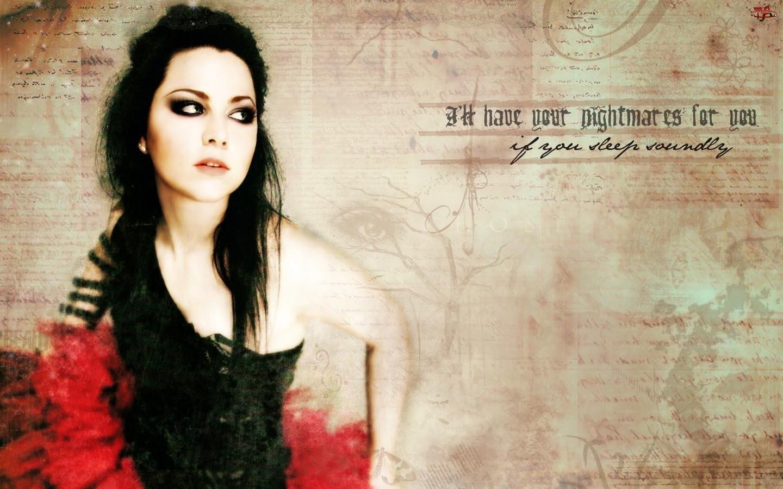 Plakat, Amy Lee, Evanescence
