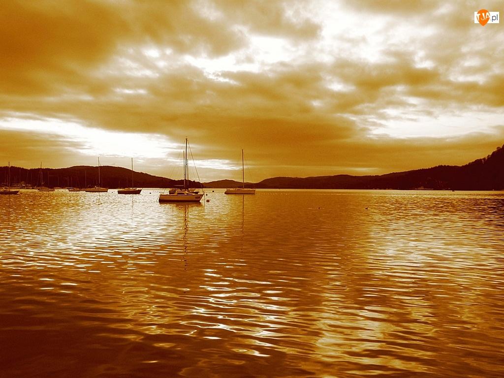 Jezioro, Sepia