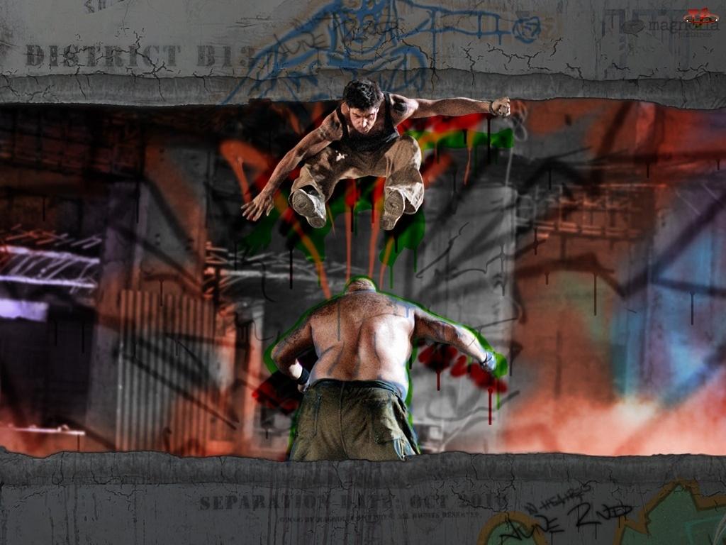 skacze, District B13, mężczyźni