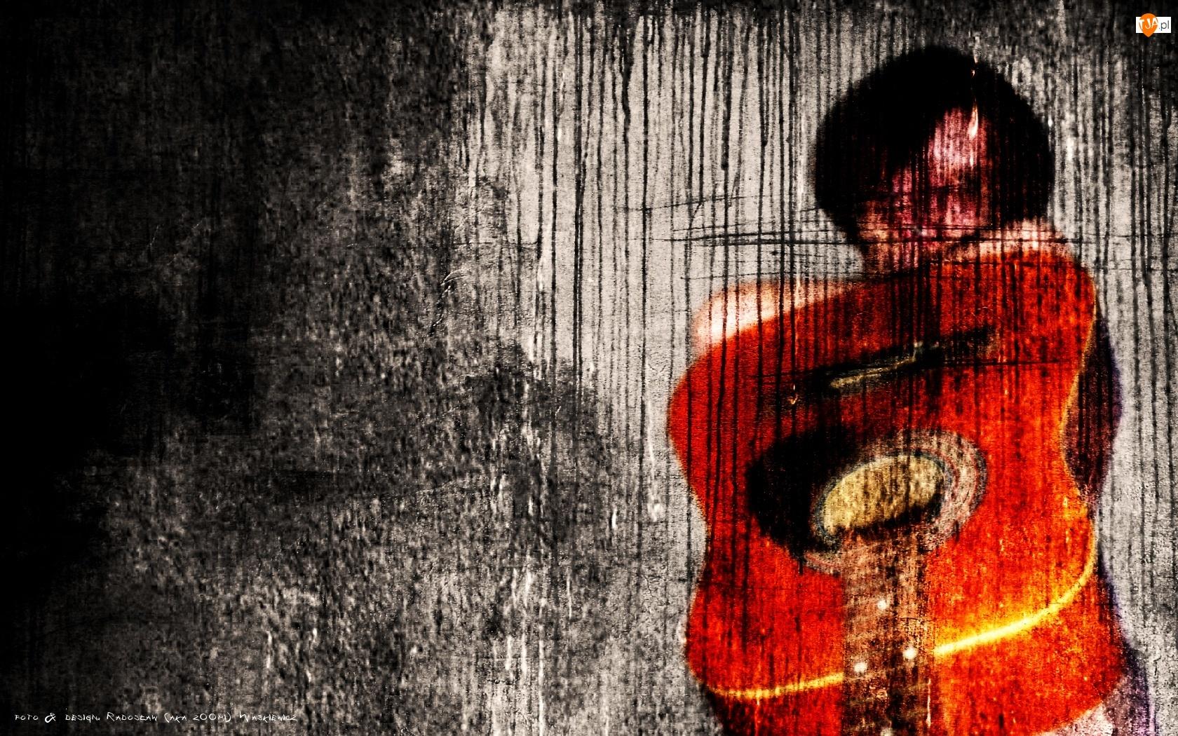 Kobieta, Gitara