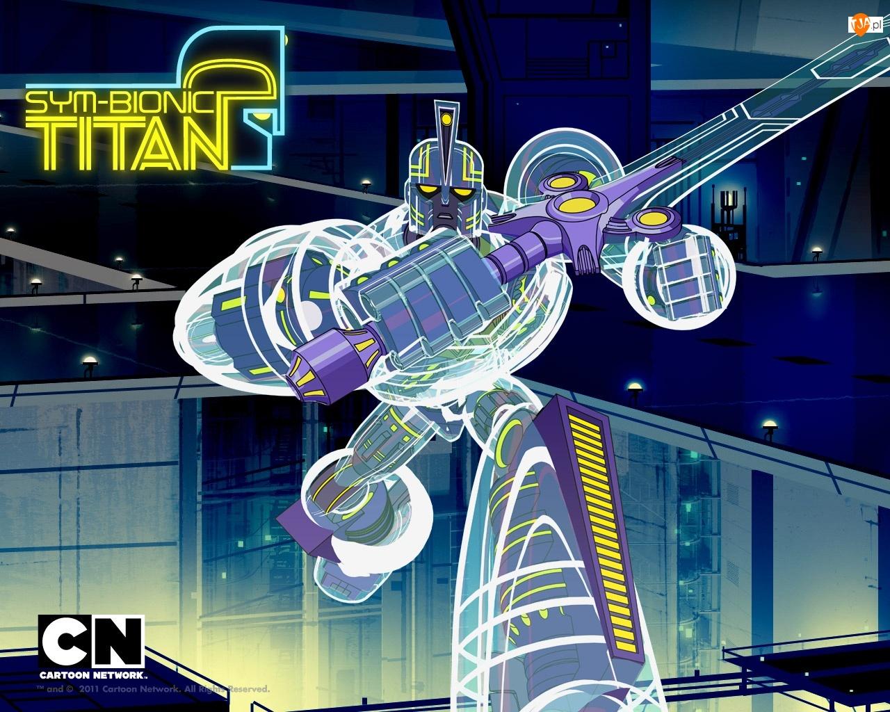 Miecz, Tytan, Bionik, Sym, Robot