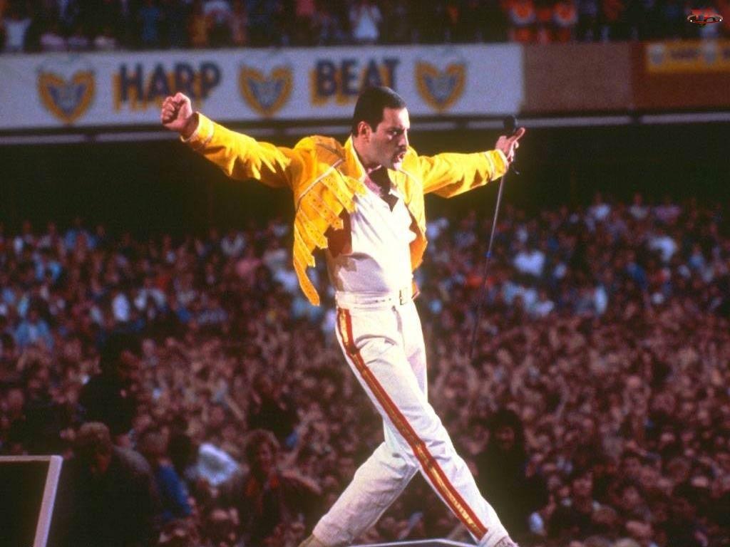 Kurtka, Freddie Mercury, Żółta